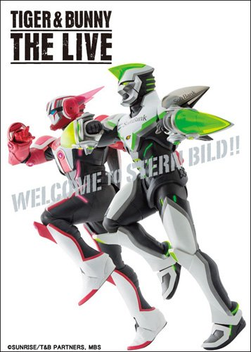 TIGER & BUNNY THE LIVE Blu-ray&DVD