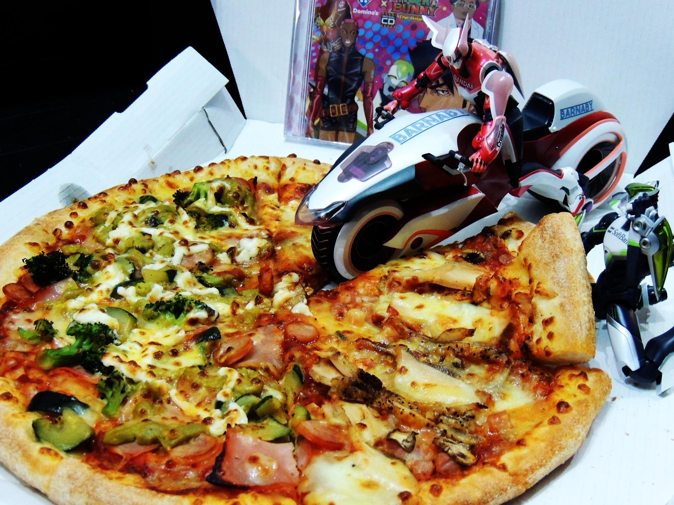 バディピザ ドミノピザ TIGER&BUNNYスペシャルセット