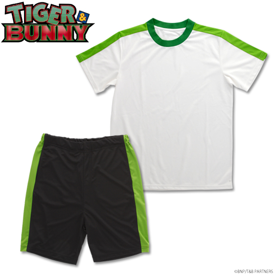 【プレミアムバンダイ】TIGER & BUNNY トレーニングウエア 虎徹カラー 予約開始!グッズ新作情報 #タイバニ