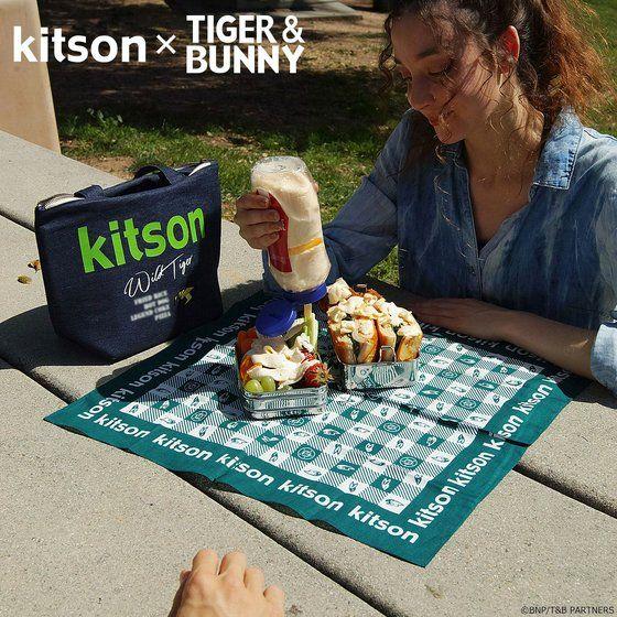 プレミアムバンダイ新着!kitson × TIGER & BUNNY ランチバッグ ※オリジナルハンカチ付き【2018年12月発送予定】 新作グッズ予約情報