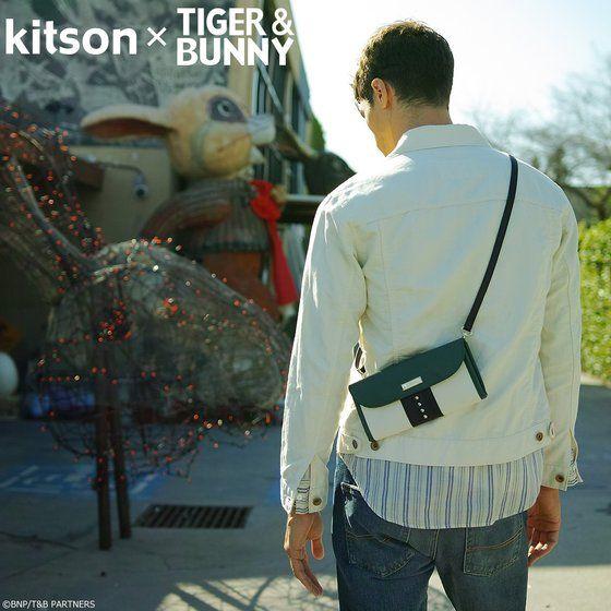 プレミアムバンダイ新着!kitson × TIGER & BUNNY サコッシュ ※オリジナルハンカチ付き【2018年12月発送予定】 グッズ新作速報