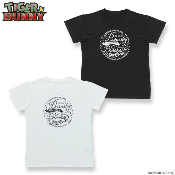 プレミアムバンダイ新着!TIGER & BUNNY チョークアート風Tシャツ バーナビー・ブルックス Jr.