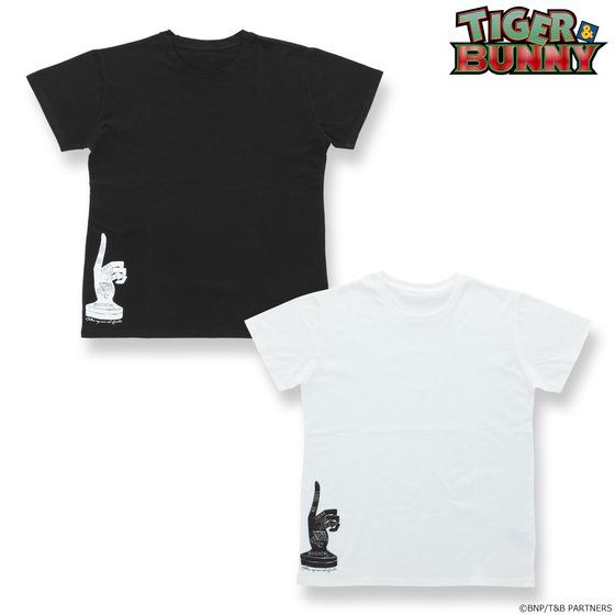 プレミアムバンダイ新着!TIGER & BUNNY デザインTシャツ ルナティック グッズ新作速報