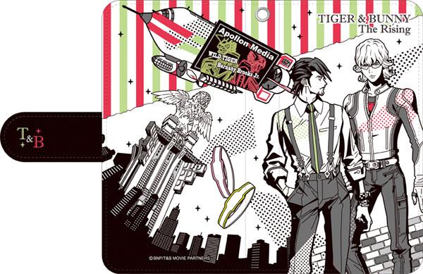 あみあみ新着!劇場版 TIGER & BUNNY -The Rising- 手帳型スマートフォンケース 新作グッズ予約速報